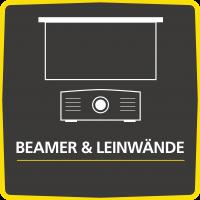 Beamer & Leinwände